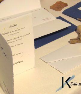 Tra le tipologie di carta proposte, molto apprezzata è anche la carta Amatruda, sinonimo di eleganza e semplicità