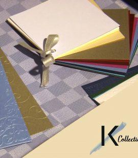 Poniamo particolare attenzione alla carta da utilizzare e alla lavorazione artigianale